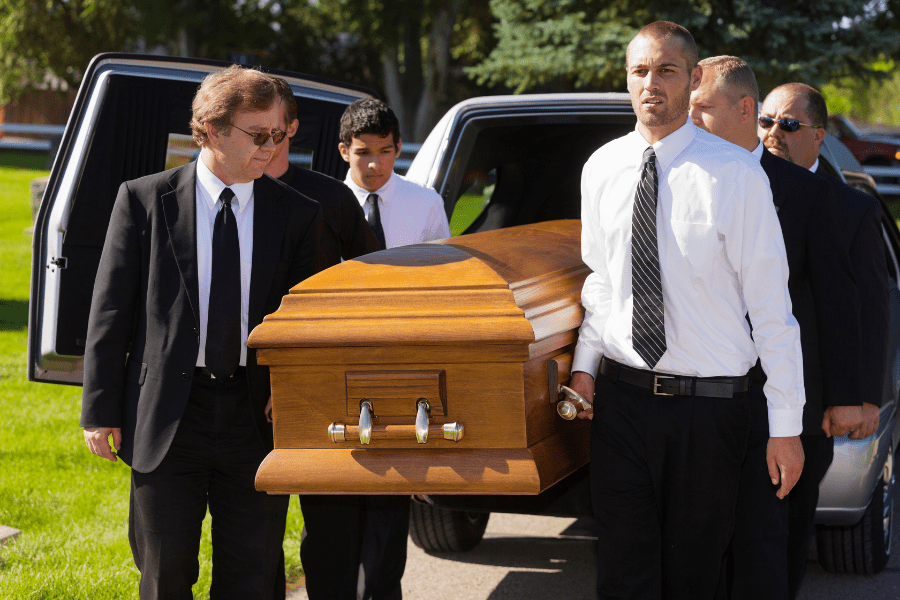 Guide to being a pallbearer