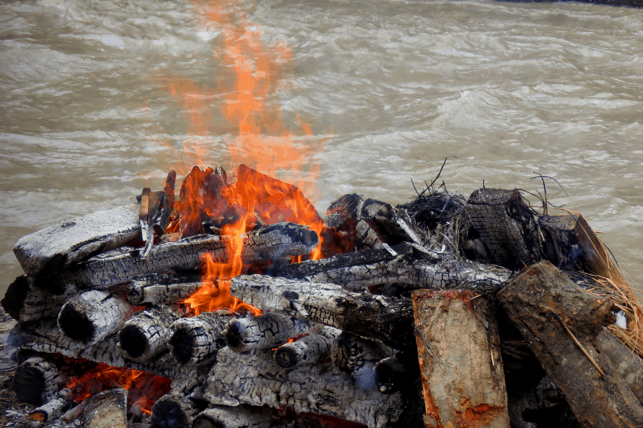 Floating Funeral Pyre