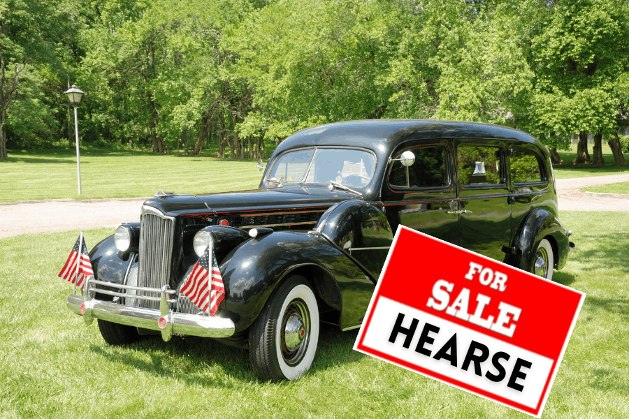 used hearse for sale